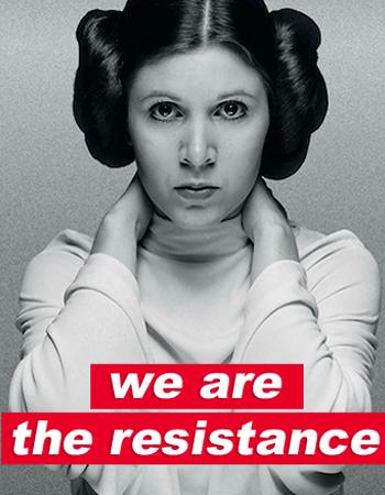 Princess Leia on Insureblocks